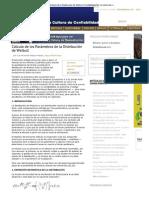 Distribución de Weibull - Confiabilidad