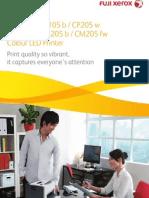 DocuPrint Colour 105 205 Series Web Ccba