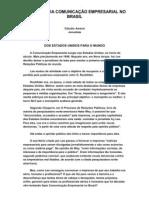 A HISTÓRIA DA COMUNICAÇÃO EMPRESARIAL NO BRASIL