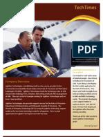 Lightbox Technologies Newsletter Issue 01