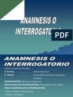 1 ANAMNESIS O INTERROGATORIO