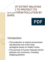 Pollution by Ships Presentation)