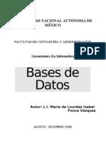 Bases de Datos Unidad 1