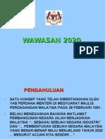 Wawasan 2020 Versi 1