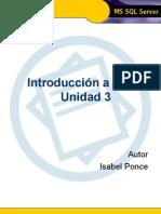 Introducci€¦ón a TSQL - Unidad 3