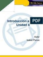 Introducci€¦ón a TSQL - Unidad 4-1