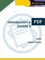 Introducci€¦ón a TSQL - Unidad 5