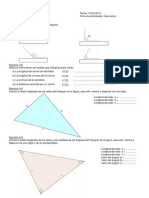 Actividades de geometria