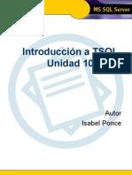 Introducción a TSQL - Unidad 10