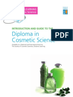 Distance Learning in Cosmetic Science