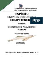 ESPÍRITU EMPRENDEDOR X COMPETENCIAS (BRIVIO)
