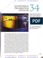 Capitulo 34 Optica Geometric A e Instrumentos Opticos Sears Zemansky