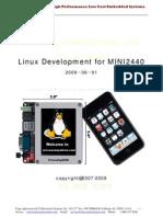 Mini2440 Linux Manual