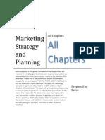 Marketing Strategy2 Notes