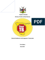 Namibia 2011 National Guidelines for the Management of Tuberculosis
