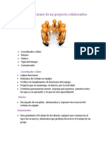 Roles y Funciones de Un Proyecto Colaborativo