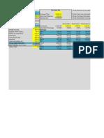 Building Spreadsheet