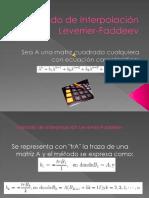 Leverrier-Faddeev