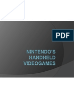 Nintendo's handheld videogames