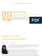Yulu Communications PR Portfolio