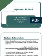 Manajemen Islami