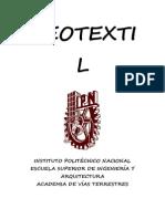 geotextil