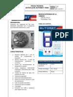 Ficha Tecnica Autoclave Automat 15000
