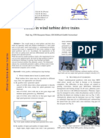 Trend in Wind Turbine Drive Trains