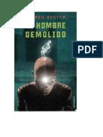 Alfred Bester- El Hombre Demolido - 1953