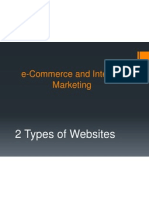 E-Commerce and Internet Marketing
