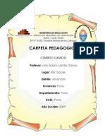 Carpeta_Pedagogica Modelo Para Primaria