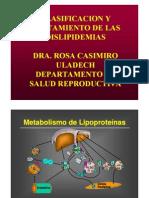 Clasificacion y Tratamiento de Las Dislipidemias