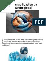 Gobernabilidad en Un Mundo Global 2012
