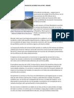 Analisis de La Doble via La Paz