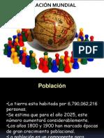 Población mundial_primero medio 2012
