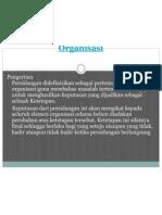 Materi Teknik Persidangan Organisasi