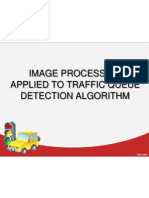 Image Processing Applied to Traffic Queue Detection Algorithm