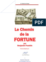 Le Chemin de La Fortune-Benjamin Franklin