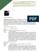 Curriculum Henry Alexander Sánchez.