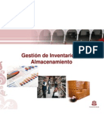Gestion Inventarios y Almacenamiento 2012