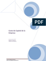 Cost Ode Capital