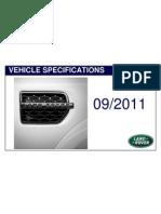 LR Vehice Specification 9-2011