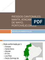Riesgos Canton Ales Manta, Atacames, 24 De