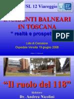 118 Versilia Soccorso - Azienda Usl 12 di Viareggio - Convegno Incidenti Balneari 19 06 08