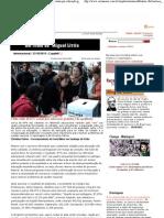 Carta Maior - Internacional - Chile_ mais de 87% votam por educação gratuita e de qualidade