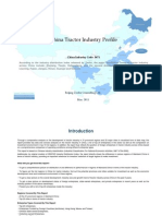 China Tractor Industry Profile Cic3671