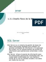 1.3.1 Diseño físico de la BD