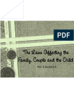 The Laws Affecting the Family, Couple and the Child_ Elective 01
