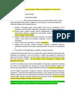 Proyecto de Ley de Resguardo del Orden Público