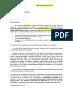 SAC Genérica para reclamar documentacion
